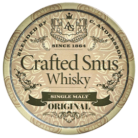 Crafted Snus Whiskey Original
