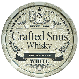 Crafted Snus Whiskey White